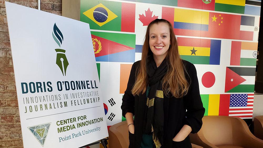 Image of Doris O'Donnell Fellowship winner